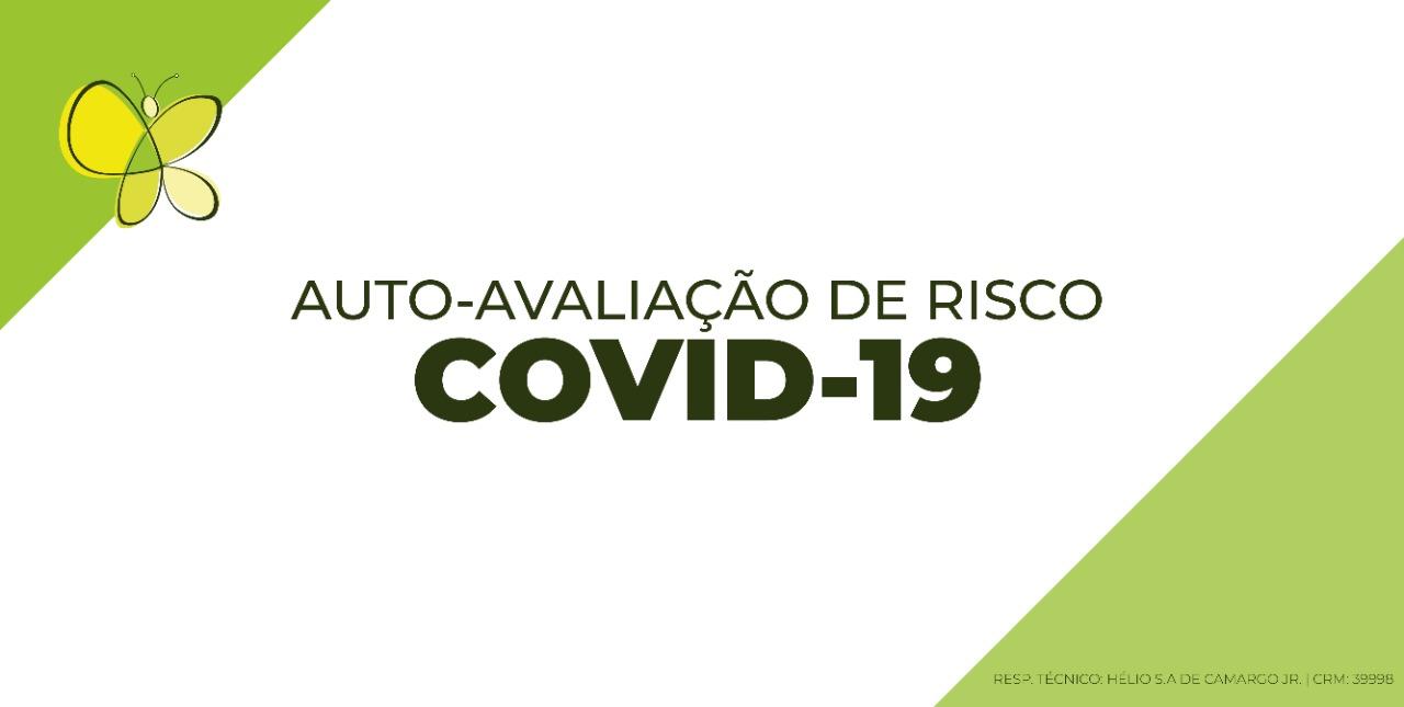 auto avaliação covid 19 coronavírus