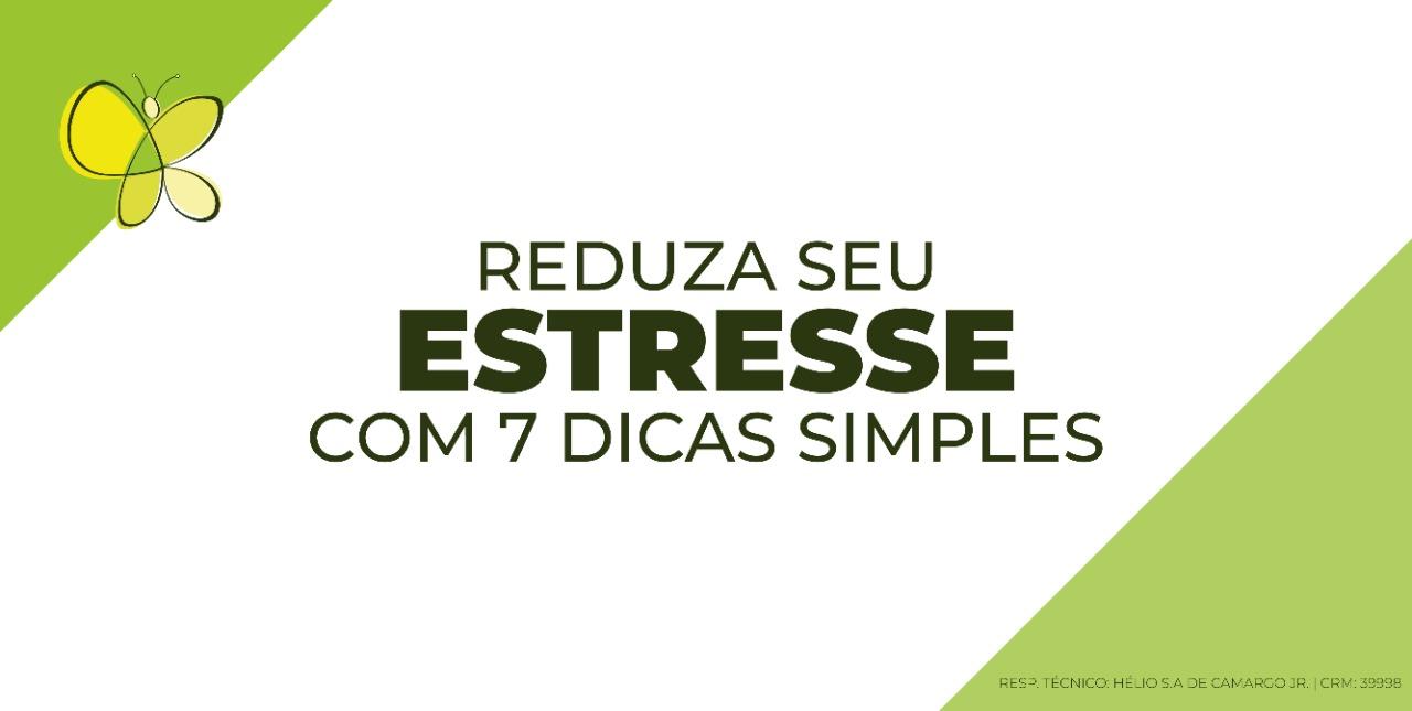 reduza estresse simples